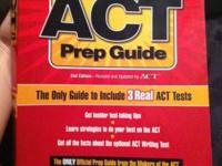 Brand new ACT Prep Guide book, never used.