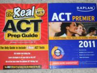 For sale are my 2 ACT prep books that are in great
