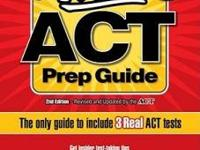 I have a ACT Prep Guide book for sale for $5. Its the