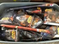 Star Wars action figures never opened and other Star