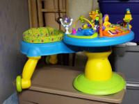Bright Starts Around We Go! Activity Table. There are