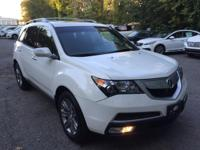 Acura Certified - Advance w Navigation and DVD - Clean