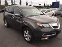 Acura Certified - Technology package - Carfax One