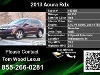 Call Tom Wood Lexus at  Stock #: 14319B Year: 2013