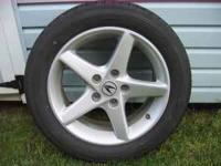 nice wheels tires have 45% tread fit 5x114.3 acura rsx