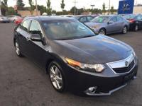 Clean Carfax One Owner - Acura Certified - Low Miles!