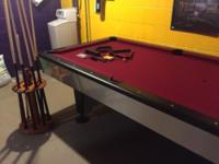 ACW 1507 7 Foot Pool Table U0026 Accessories