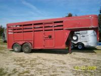 2003 ADAM 4 horse gooseneck trailer. Very good