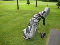 ADAMS golf club set fresh, Only used a few times. Paid