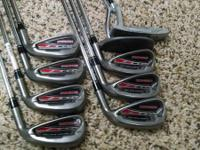 I have an utilized set of Adams Redline clubs PW - 4