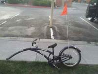 adams trail-a-bike asking $70.00 obo only used it in