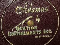Adamus II by Ovation Guitar with Hard & Soft Cases This