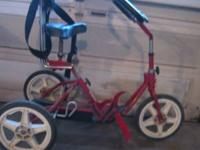 Rifton Ranger R130 adaptive tricycle. Loop handle bar,