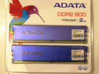 "Up for sale is used ""ADATA 2GB 240-Pin DDR2 SDRAM DDR2"