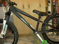 I have an Addict Dirt jumper. It has 24 inch wheels,