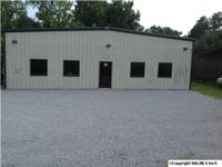 Customized Designed 5500 SQ. FT. Building w/Spray Booth