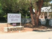 Great opportunity to own a Boutique Winery Estate with