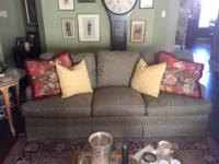 Beautiful Adele Hunt 84inch couch. 3 over 3 cushions