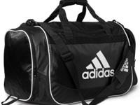 Great as a gym bag or even a carry-on! adidas' medium