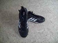 Adidas football cleats that were worn once for a 2 hour