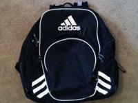 This is a used Adidas Copa Edge Soccer Backpack.