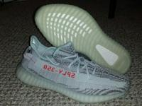 Adidas Yeezy Boost 350 V2 'Blue Tint' Size 13 Brand New