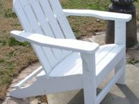 Adirondack Chairs: Local only, no shippingMade from