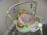 Never used adjustable bouncer. Pls call  for a