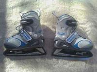 I have two pair of adjustable ice skates: $25/each Like