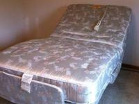 Adjustable electric twin bed.  Great for those with