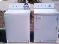 Admiral Washer & Gas Dryer-Matching Set. Large