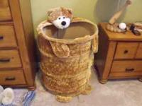 Cute pop up bear toy box. Lots of room and easy to