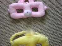 Toddler Costume Face Masks -$10.00 Elastic Band