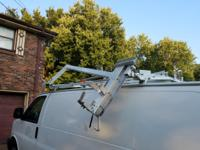 For sale ADRIAN STEEL LADDER RACK Dual Hydraulic drop
