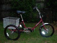 Trifecta Adult Folding Tricycle ........ $235 New