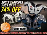New Adult Football Shoulder Pads Up to 74 % Off.League