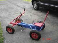 ADULT/KIDS PEDAL CAR ADJUSTABLE SEAT $135 CALL 1