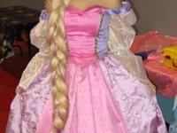 Adult Ladies Rapunzel Dress for Sale Two pieces - skirt