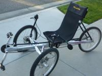 For Sale: Recumbent Trike ~ TerraTrike Rover 8 speed in