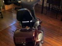For SALE 2 ADULT SIZE X-TREME 562 ELECTRIC SCOOTERS.