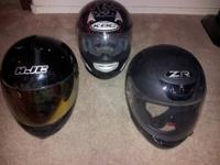 Adult Small and Childs Large ATV or Motorcycle Helmets