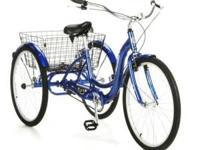 ". 26"" Schwinn Trike , With Large Basket FOR SALE :"
