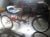 We acquired this tricycle from a Columbus Bike