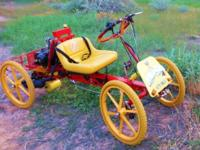 Adult Tricycle-Quadricyle Gyro pedal-electric United
