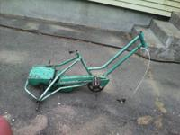 I have a grownup trike frame, I'm wanting to sell or