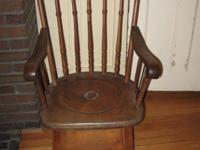 Three rare adult Windsor potty chairs from 1800s in