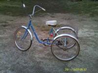 MONTGOMERY WARD 3 WHEEL BICYCLE IN GOOD CONDITION. HAS