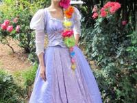 Rapunzel Cosplay costume for sale. This is two pieces a