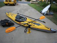 This is an amazing kayak! I only used it for one season