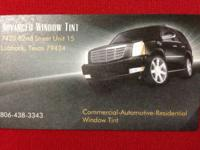 We do window tinting $125 for most automobiles suv's
